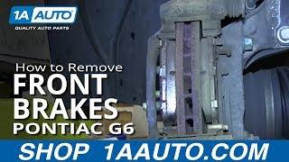 getlinkyoutube.com-How To Install replace Do a Front Brake Job Pontiac G6 Saturn Aura