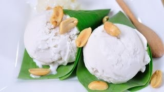 getlinkyoutube.com-ไอศกรีมกะทิ Coconut Milk Ice Cream