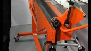getlinkyoutube.com-Pro Max Metal Bending Machine Video