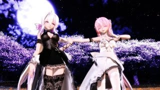 getlinkyoutube.com-【MMD】狂喜乱舞 (HAKU & LUKA)