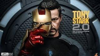 getlinkyoutube.com-REVIEW : Hottoys IronMan3 Tony Stark (Armor Testing Version)