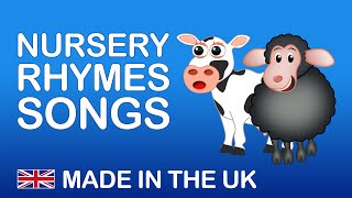NURSERY RHYMES SONGS | Songs from the UK. Nursery Rhymes Playlist. .