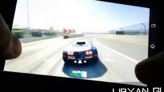 Real Racing 3 Game Play XPERIA Z1