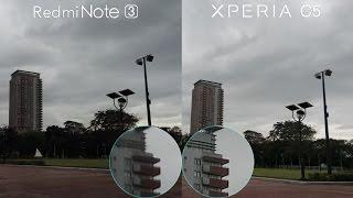getlinkyoutube.com-Xperia C5 Ultra vs Redmi Note 3 Comparison, Camera Review