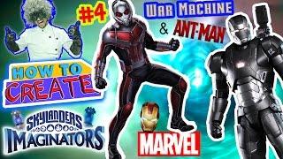 getlinkyoutube.com-SKYLANDERS IMAGINATORS CREATION of ANT MAN & WAR MACHINE from IRON MAN (How to Create Recipe #4)