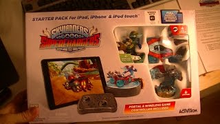 getlinkyoutube.com-SKYLANDERS SUPERCHARGERS IPAD STARTER KIT UNBOXING