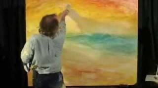 getlinkyoutube.com-High Energy Time Lapse Oil Painting created