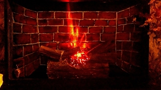 DIY electric firelog using bulb n cardboard easy|faux fireplace