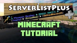 getlinkyoutube.com-ServerListPlus Plugin Tutorial Minecraft 1.11
