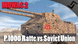 getlinkyoutube.com-Men of War: Assault Squad 2 - P.1000 Ratte vs Soviet Union Onslaught