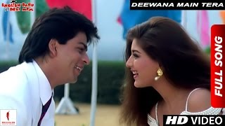 Deewana Main Tera Deewana | Full Song | English Babu Desi Mem | Shah Rukh Khan, Sonali Bendre