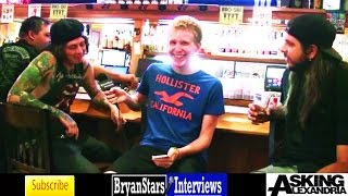getlinkyoutube.com-Asking Alexandria Interview #6 Ben Bruce & Kyle Borman 2015