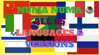 getlinkyoutube.com-Numa Numa All 85 Languages & Versions!