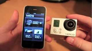 getlinkyoutube.com-GoPro Hero 3 Wifi connectivity with an iPhone - Setup demo