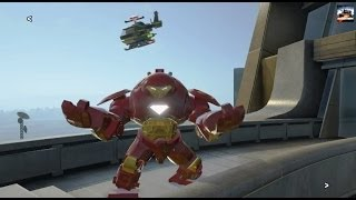 getlinkyoutube.com-LEGO Marvel Superheroes - Rebooted Resuited Free Roam (100% Completion) [Xbox One]