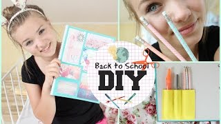 getlinkyoutube.com-DIY Supplies Ideen | Back to School #3
