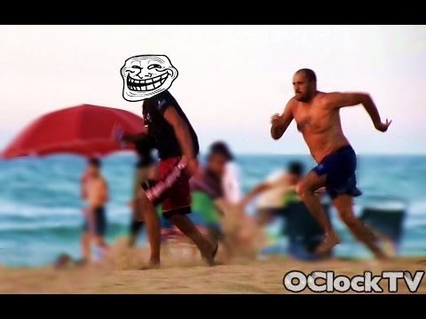 Beach Trolling - Pee Prank (Gone Wrong) |OClockTV