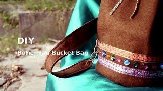 getlinkyoutube.com-DIY Bohemian Bucket Bag