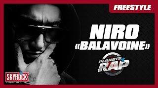 Niro - Balavoine en live dans Planète Rap