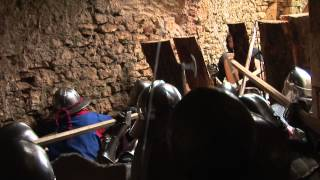 getlinkyoutube.com-Assaut du chateau de Bonaguil janvier 2013