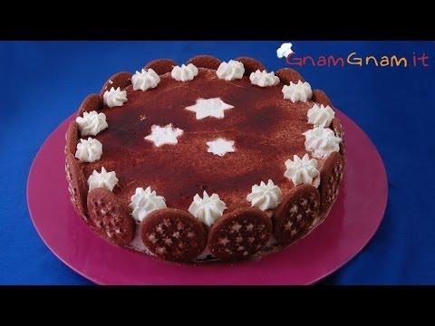Torta pan di stelle - Le video ricette di GnamGnam