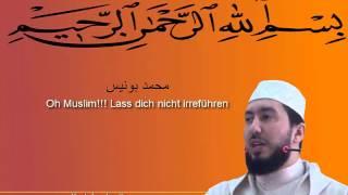 getlinkyoutube.com-Mohamed Bouniss Tamazight - Oh Muslime lasst euch nicht irreführen