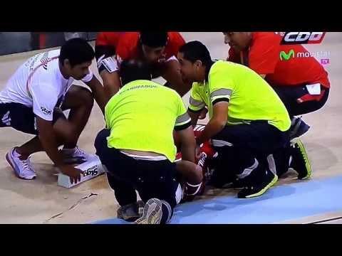 Accidente ciclista chilena en Juegos Suramericanos