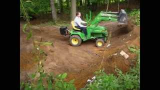 getlinkyoutube.com-John Deere 455 with loader