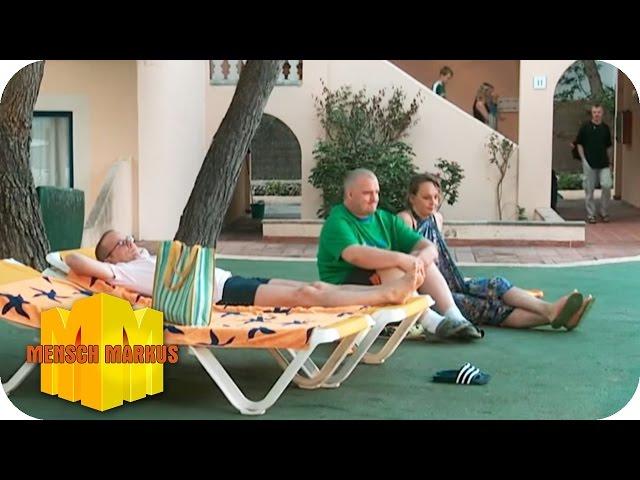 Stress im Urlaub: Heiteres Liegestuhl reservieren