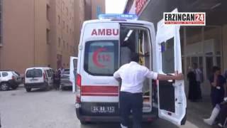 Erzincan'da İki Otomobil Çarpıştı: 1 Ölü, 9 Yaralı