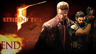 getlinkyoutube.com-Let's Play Resident Evil 5 - (CO-OP) Chapter 6-3 ALBERT WESKER BOSS END
