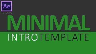 getlinkyoutube.com-Clean Minimalist Intro | After Effects Tutorial