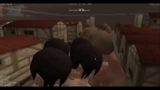getlinkyoutube.com-Attack on titan tribute game updated hacks, mods, violent citizen, damage, MOD