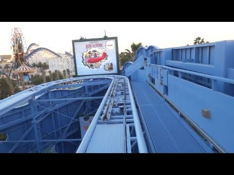 Goofy's Sky School On-Ride (HD POV) Disney California Adventure Roller Coaster