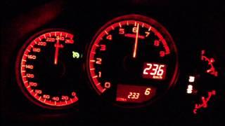 getlinkyoutube.com-Subaru BRZ 2013 - acceleration 0-225 km/h + Vmax test