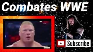 The Undertaker vs Brock Lesnar l WrestleMania 30 l Español Latino l Combates WWE