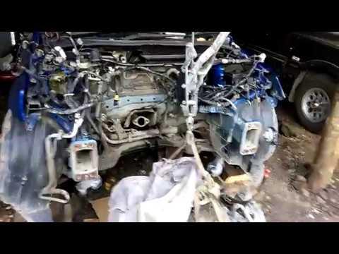 Капитальный ремонт двигателя мазда демио 2 ZJ 1.3 2004г (маложер)