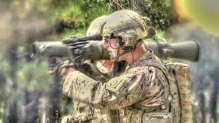 getlinkyoutube.com-M3 Carl Gustaf Recoilless Rifle – Loading And Firing