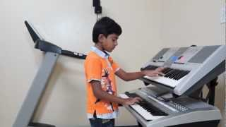 "getlinkyoutube.com-""Kaho Na Pyar Hai"" on Keyboard by Vishwaraj Vinayakumar (INSTRUMENTAL)"