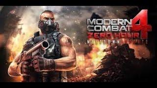 كيفية تنصيب وتشغيل لعبة modern combat 4 zero hour كاملة مع الداتا بدون واي فاي