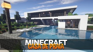getlinkyoutube.com-Minecraft: Incrível Casa de Praia Moderna! (by makapuchii)