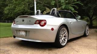 Supercharged Z4 Exhaust Comparison - OEM vs Supersprint