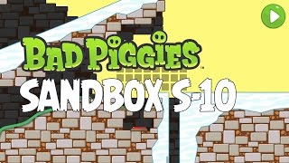 Bad Piggies Sandbox S-10 Walkthrough - How to Get All 20 Stars