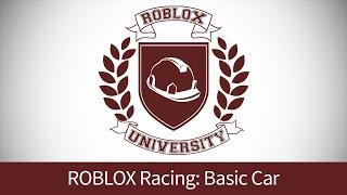 getlinkyoutube.com-ROBLOX Racing 1: Build a Basic Car (ROBLOX U Tutorial)