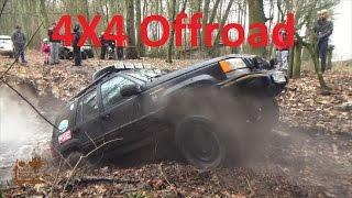 getlinkyoutube.com-off road 4x4 Wigilijne spotkanie SDP w terenie Nisan Patrol MItsubishi Pajero Jeep Grand Cherokee ZJ