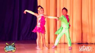 getlinkyoutube.com-Amazing 6 Year Olds Kevin and Gabby Kids of Baila Conmigo Salsa Colombia Style - DC Bachata Congress