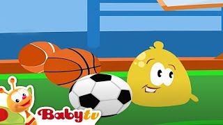 getlinkyoutube.com-Pitch and Potch - At the Gym | BabyTV