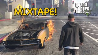 getlinkyoutube.com-HE HEARD MY MIXTAPE! [GTA 5] [F#%KING AROUND!]