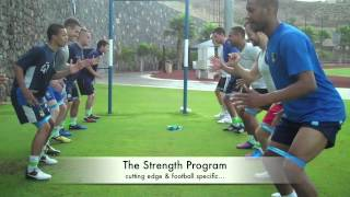 getlinkyoutube.com-Improve Your Football Fitness - Pre Season Training Camp
