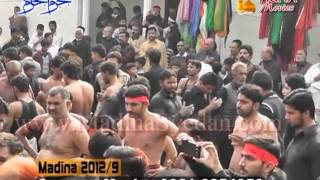 MADINA SYEDAN 9th of Muharram 1434 AH 2012-2013 PART 3/8